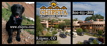 Chipeta Sun Lodge and Spa, Ridgeway, CO, 800-633-5868, www.chipeta.com