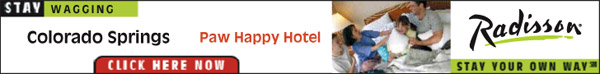 Stay Wagging - Radisson, Colorado Springs Paw Happy Hotel. Stay your own way. Click here now.