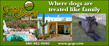 Canyon Golf Resort - Where dogs are treated like family - 480-982-9090